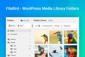 Filebird WordPress Merdia Library